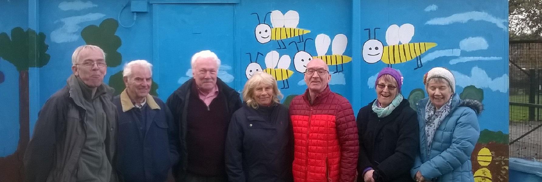 Members of IE Brighouse visiting IE Wakefield