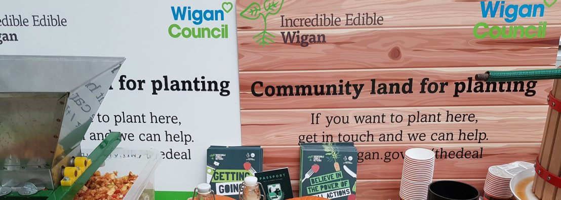 IE stall at Wigan event